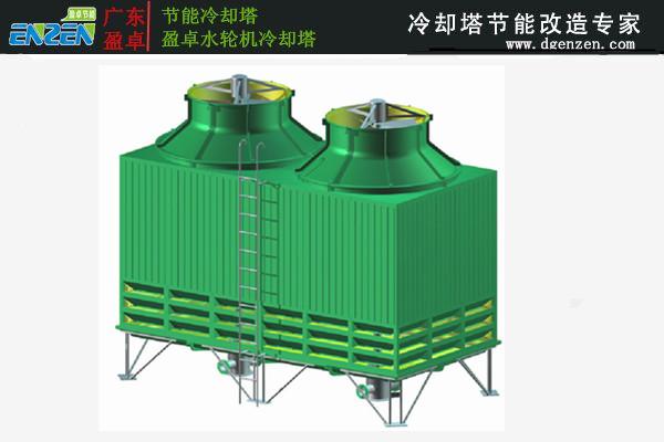 超静音型冷却塔,喷流式冷却塔